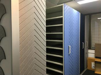 Acoufelt storage